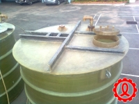FRP Stirred Tank